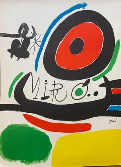 Joan MIRÓ – Lithographie, Tres llibres, 1970