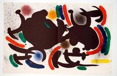 """Joan Miró - """"Litografía Original IX"""" - surrealistic lithography"""