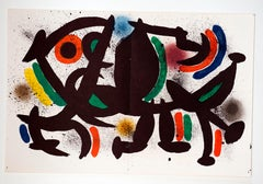 "Joan Miró - ""Litografía Original VIII"" - surrealistic lithography"