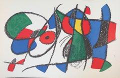 Joan Miro - Litografia Originale non Firmata VIII - Surrealist - 1975