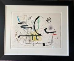 """Joan Miro """"Maravillas con Variaciones Acrosticas en el Jardin de Miro"""""""