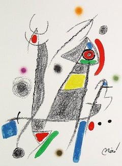 JOAN MIRÓ Maravillas con variaciones... Lithograph Contemporary art, Abstraction