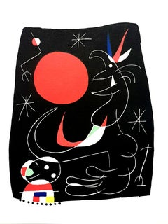 Joan Miro - Night Sky - Original Lithograph