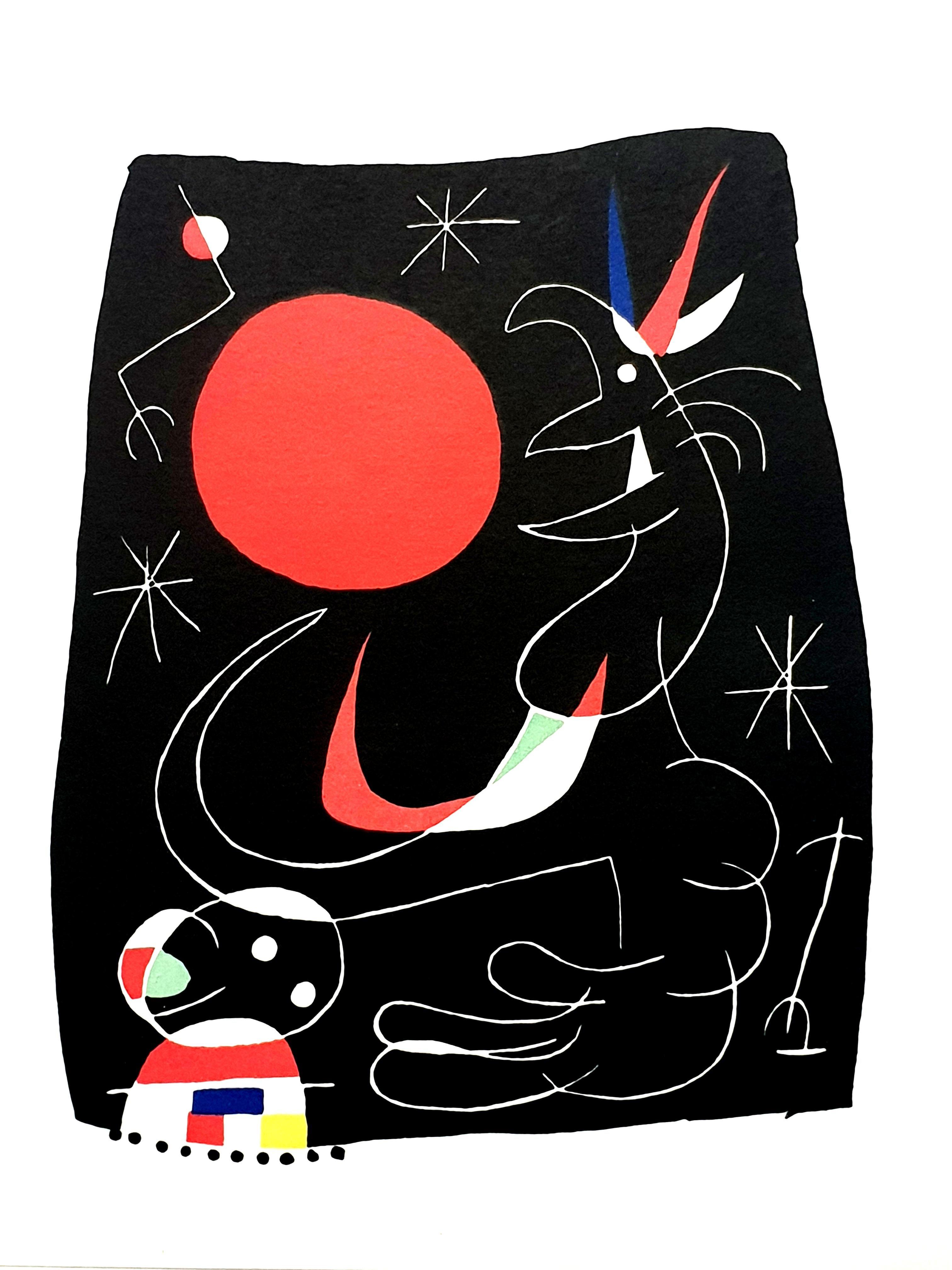 Joan Miro - Night Sky - Original Lithograph