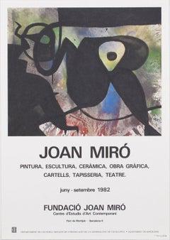 """Joan Miró - """"Obra Grafica Poster"""""""