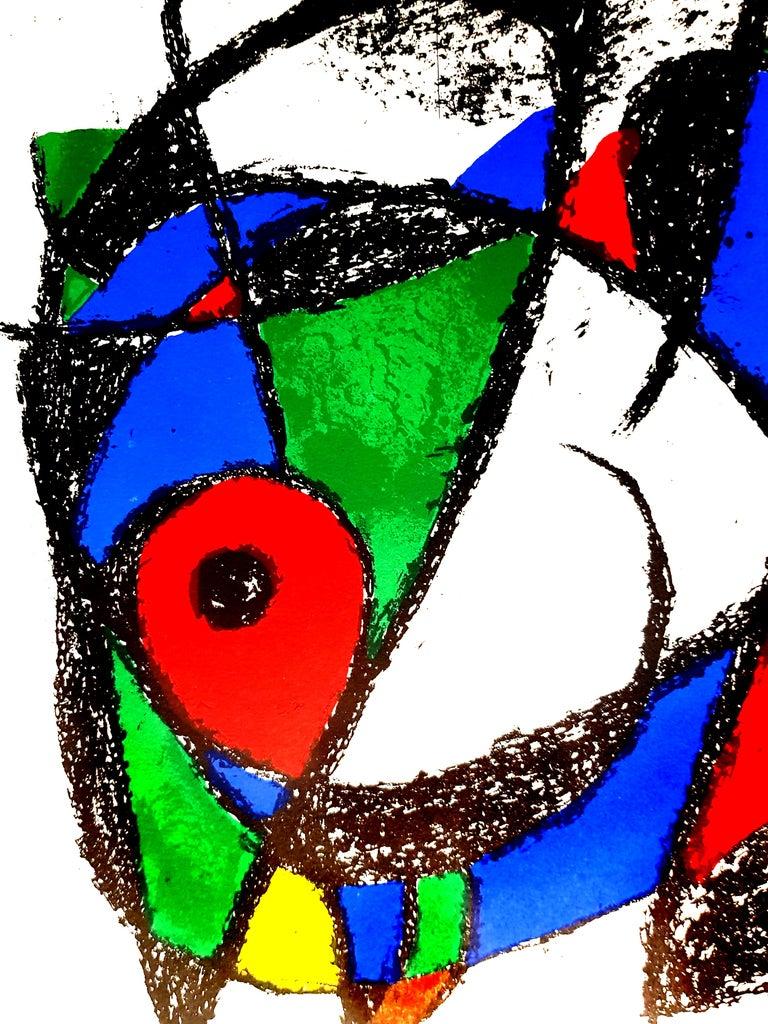 Joan Miro - Original Abstract Lithograph - Print by Joan Miró