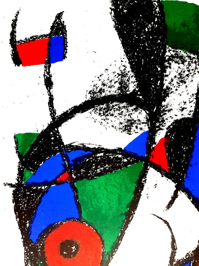 Joan Miro - Original Abstract Lithograph For Sale 1