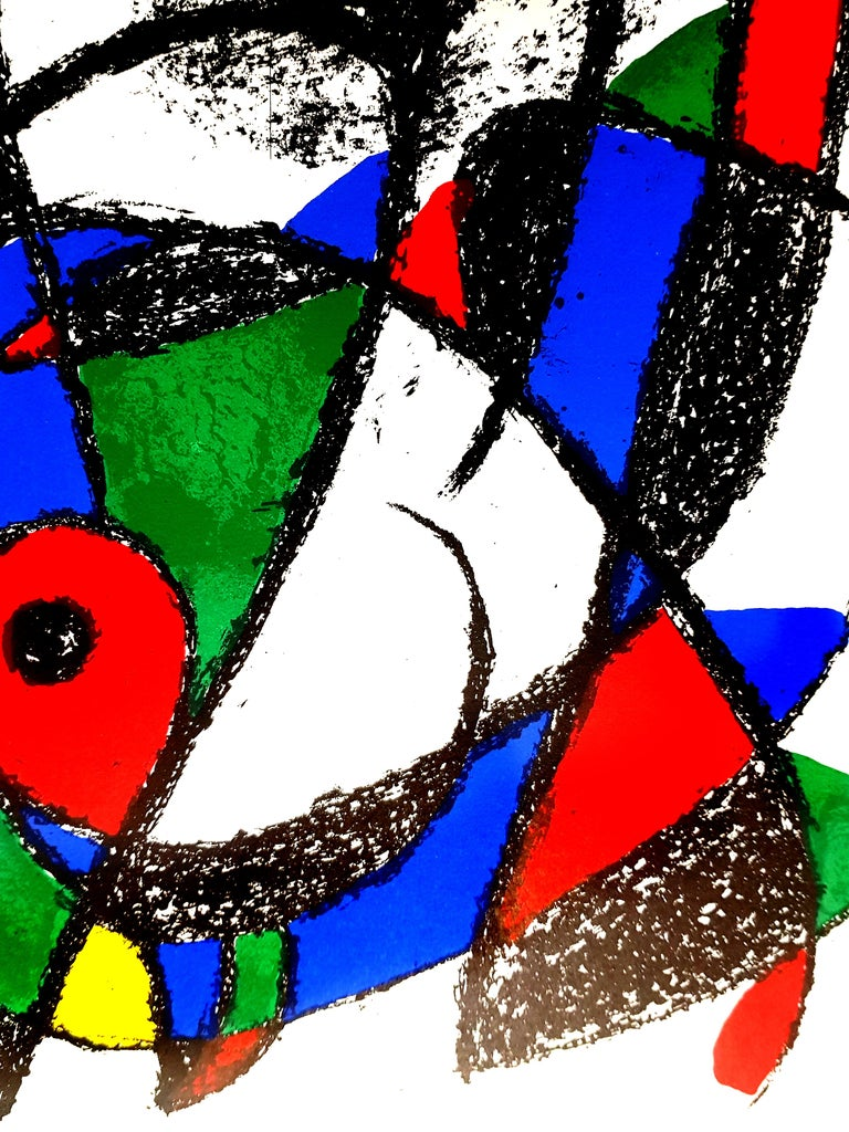 Joan Miro - Original Abstract Lithograph For Sale 2