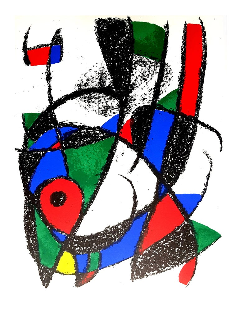 Joan Miro - Original Abstract Lithograph For Sale 3