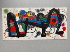 "Joan Miró original lithograph ""espagne"""