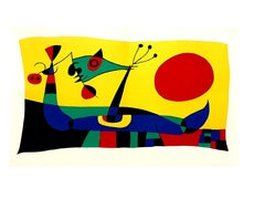 Joan Miro - Peacock Feathers - Original Lithograph