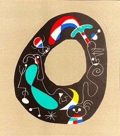 Joan Miro (Plate 1)