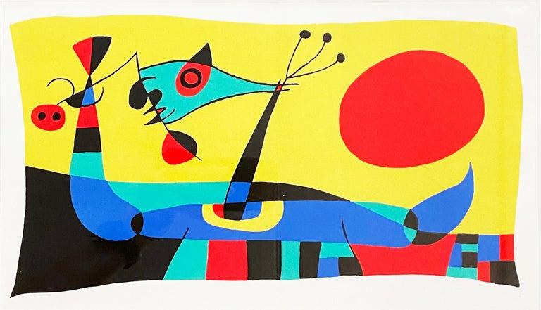 Joan Miro (Plate 2) - Print by Joan Miró