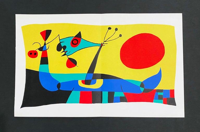 Joan Miro (Plate 2) - Abstract Print by Joan Miró