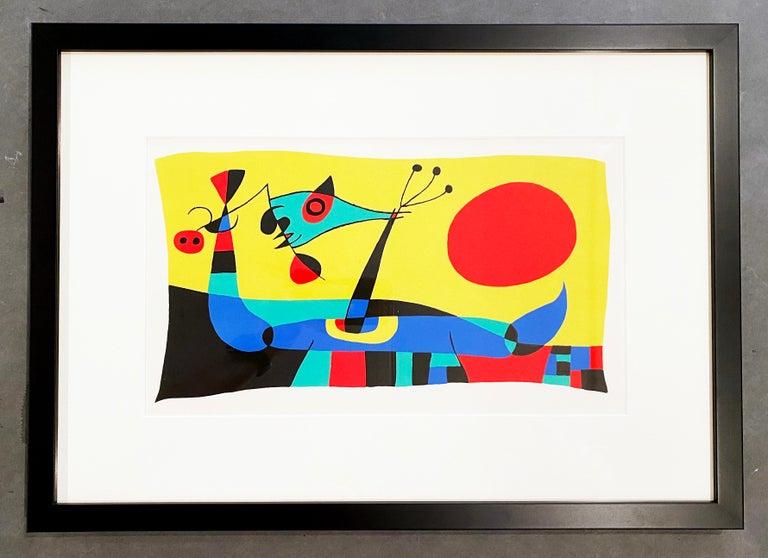 Joan Miró Abstract Print - Joan Miro (Plate 2)
