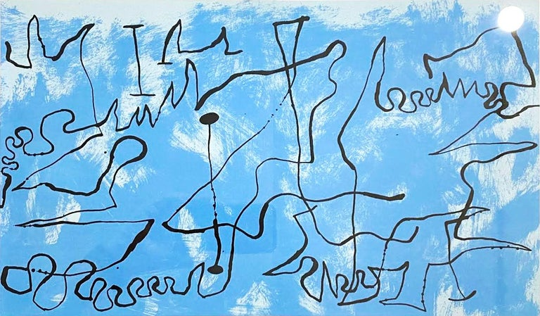 Joan Miro (Plate 3) - Print by Joan Miró