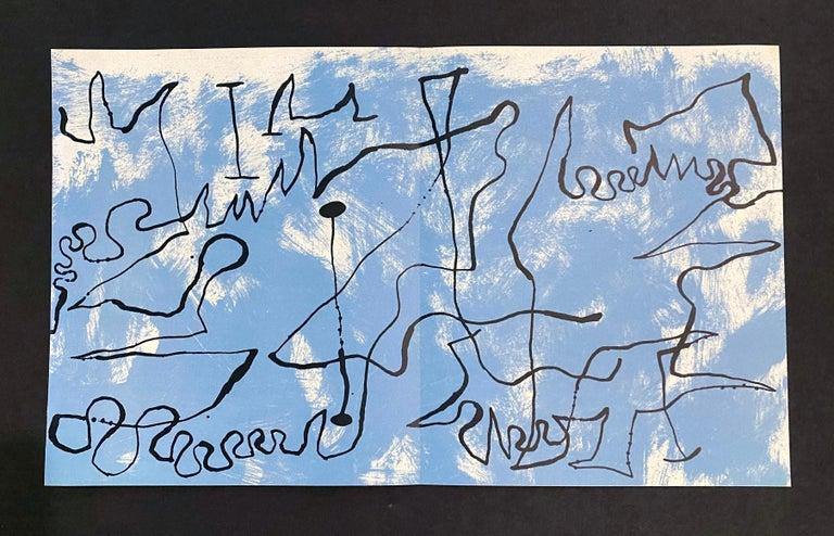 Joan Miro (Plate 3) - Abstract Print by Joan Miró