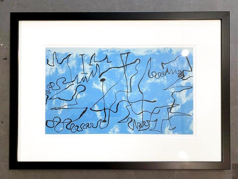 Joan Miró Abstract Print - Joan Miro (Plate 3)
