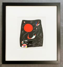 Joan Miro (Plate 4)