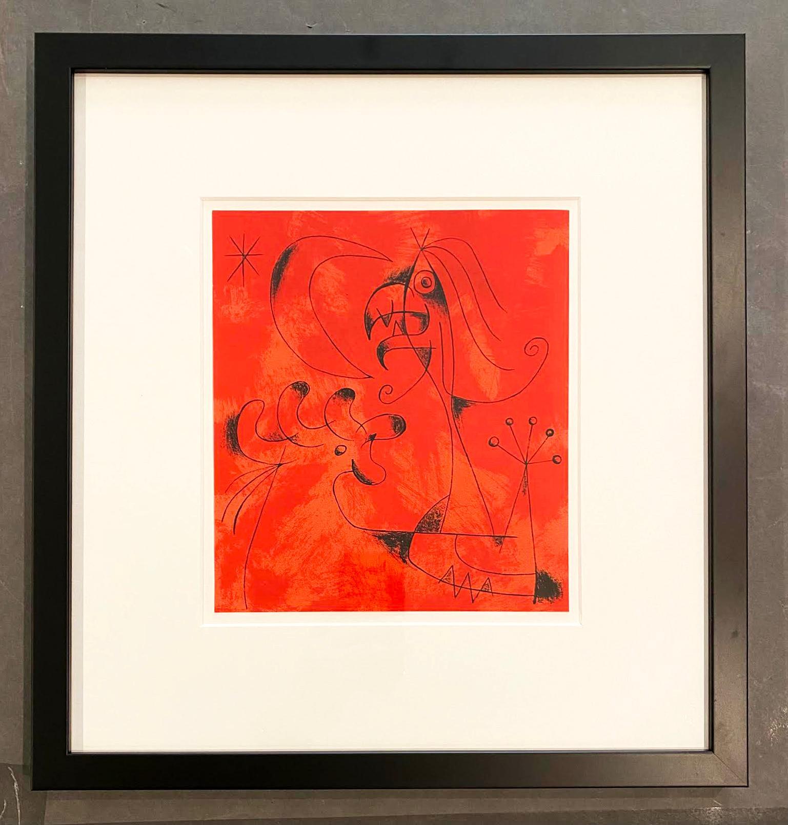 Joan Miro (Plate 6)