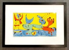 Joan Miro (Plate 7)