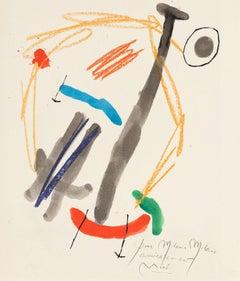 "Joan Miró ""Quelques Fleurs #25: Milani"", Lithograph"