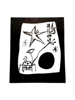 Joan Miro - Space Travel - Original Lithograph