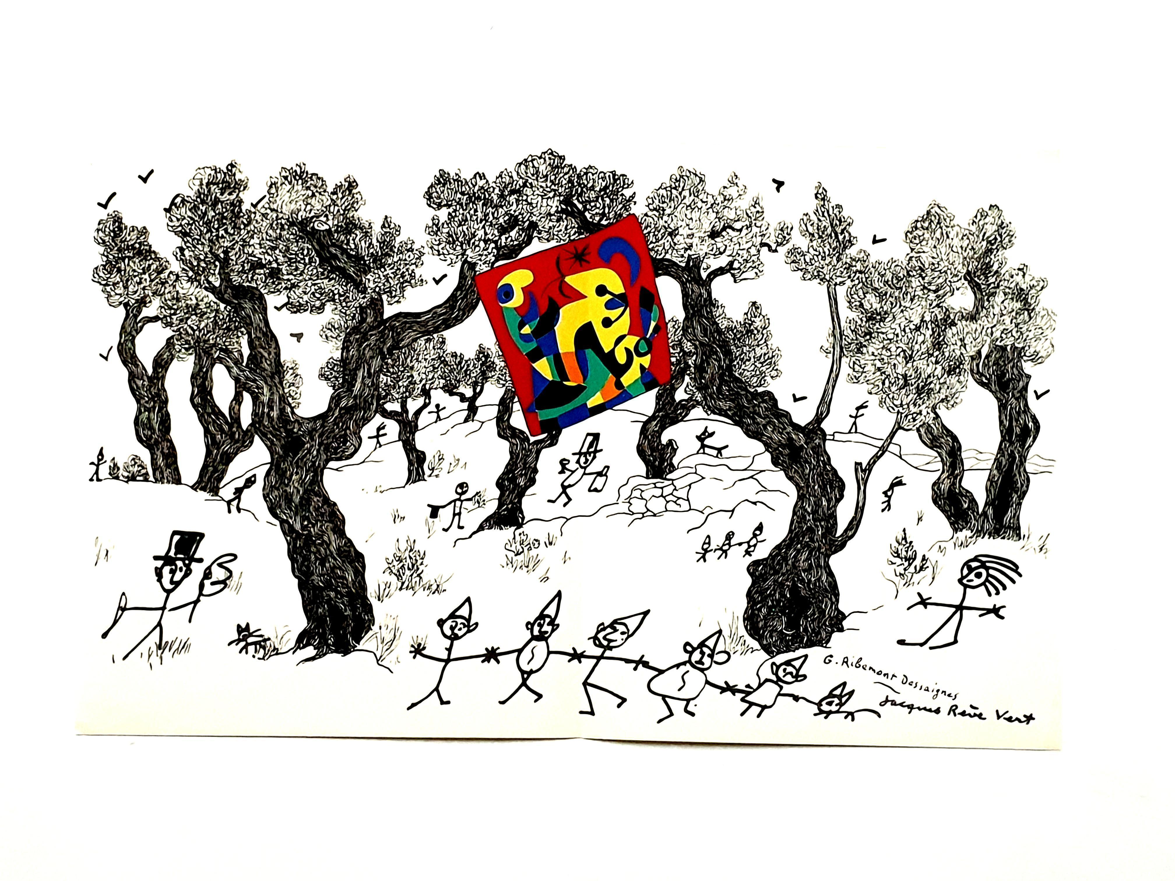 Joan Miro - The Party - Original Lithograph