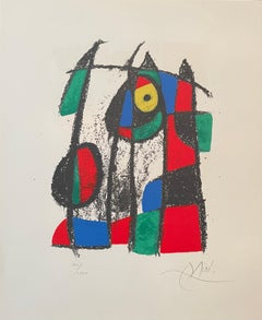 """Joan Miro, """"Untitled"""", hand signed lithograph"""