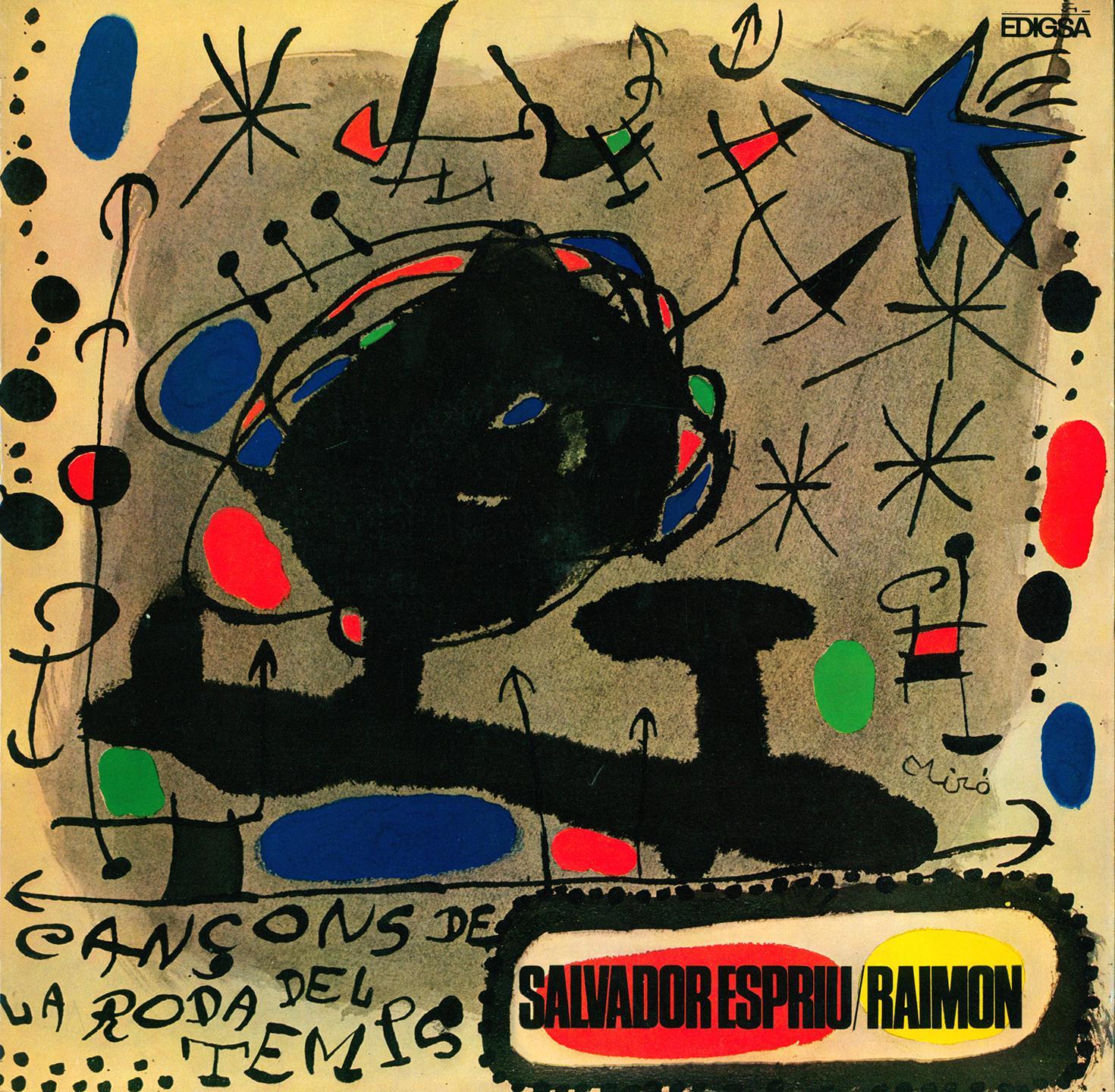 Joan Miró Vinyl Record Art