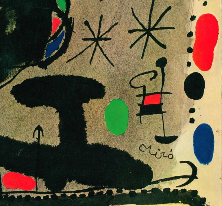 Joan Miró Vinyl Record Art (set of 2) For Sale 3