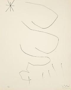 Journal d'un Graveur - Original Etching by J. Mirò - 1975
