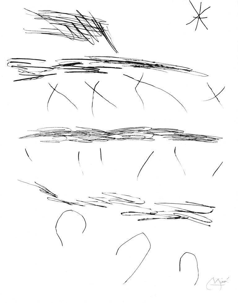 Joan Miró Abstract Print - Journal D'Un Graveur - Vol. 2 Plate 7