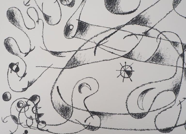 King Ubu : Master of Planets - Original lithograph, Handsigned (Mourlot #487) For Sale 1