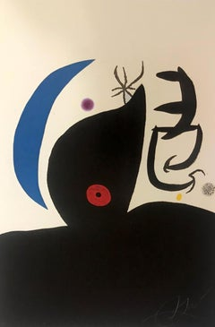 """""""L´otarie savante"""", 1978. Etching and aquatint hand signed and numbered."""