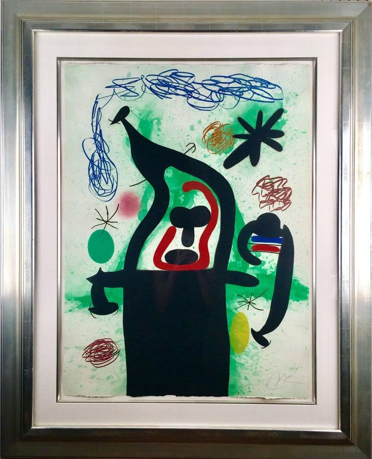La Harpie - Print by Joan Miró