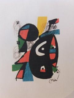 La melodie acide. original lithograph painting.