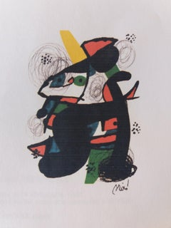 La melodie acide. original lithograph painting