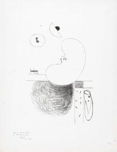 L'Arbre des voyageurs: III - Joan Miró, Lithograph, Surrealist