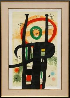 Le Grand Ordonnateur, Etching by Joan Miro 1969