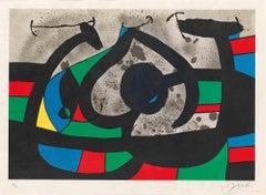 Le Lézard aux Plumes d'Or - OriginalLithograph by Joan Mirò - 1971
