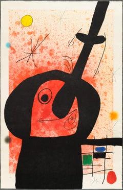 Le Penseur Puissant. By Joan Miro.