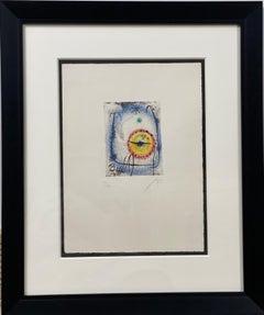 """""""Le Prophete"""" by Joan Miro, c. 1958"""