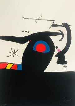 """""""Le Tambour-major"""", 1978. Etching and aquatint hand signed and numbered."""