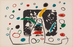 L'enfance d'Ubu: 999 by Joan Miro - Abstract