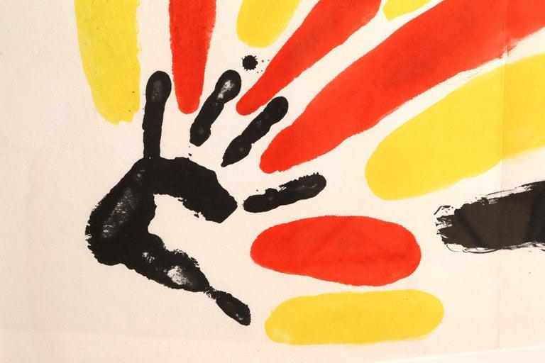 Les Essencies de la Tierra, Lithograph by Joan Miró 1968 1
