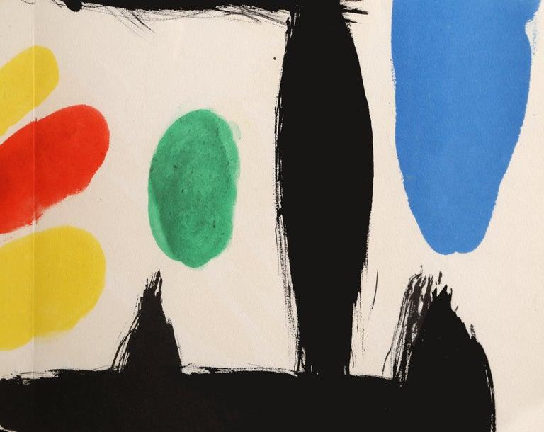 Les Essencies de la Tierra, Lithograph by Joan Miró 1968 2