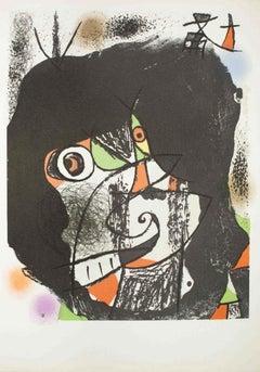 Les Revolutions Sceniques du XX Siecles - Original Lithograph by Joan Mirò