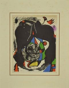 Les Révolutions Scéniques du XXe siècle - Original Lithograph by Joan Miró -1975