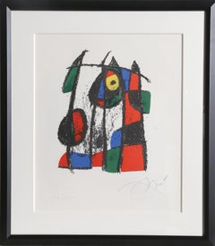 Untitled from Miro Lithograph II, Lithograph by Joan Miro